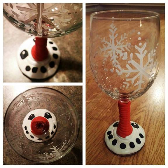 Build a glass wine glass