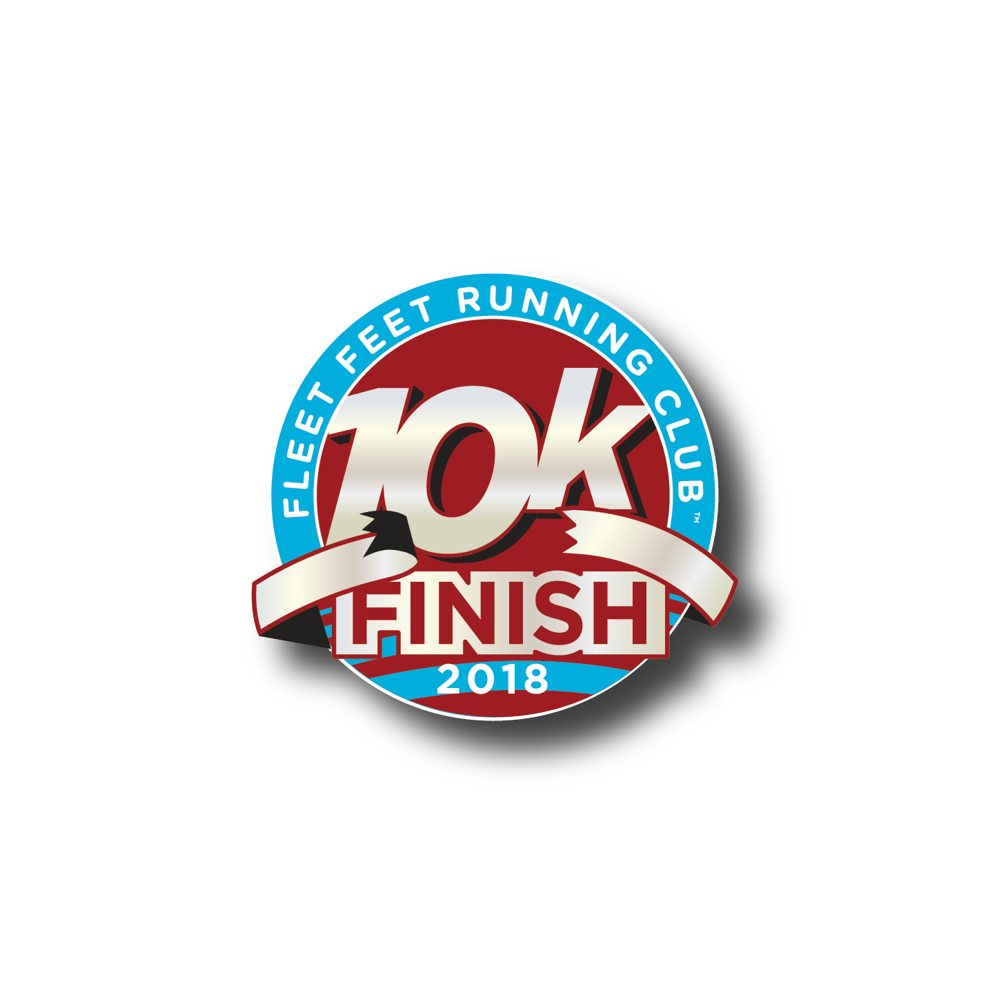 10K Marathon Patch